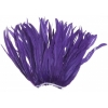 Coque Feathers 14-16in Strung 30gm Purple